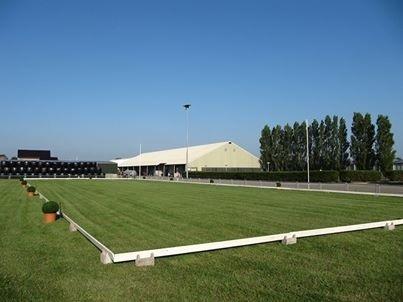 Grasring tijdens de outdoorwedstrijden zomer 2013. Foto: Hoogenboom Ruitersport