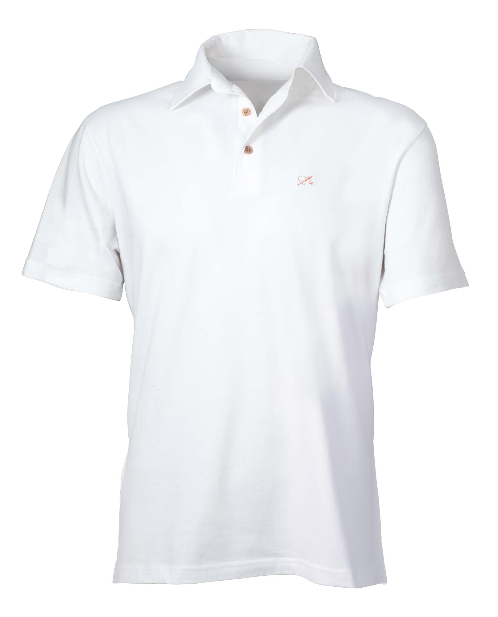 Polo-Hemd für Ihn weiß