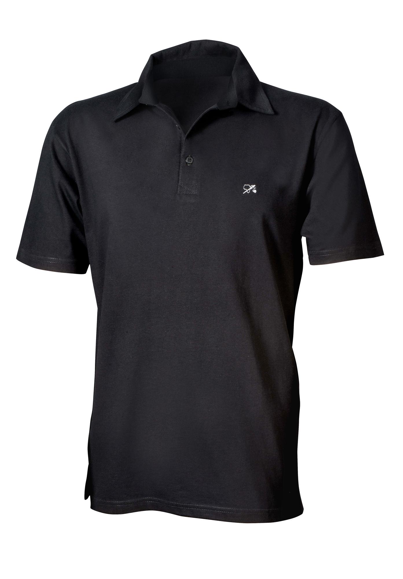 Polo-Hemd für Ihn schwarz