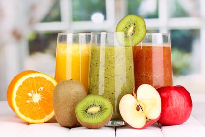 selbstgemachte Obstsäfte
