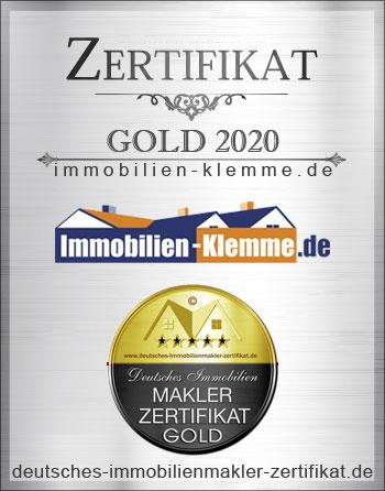 MAKLER ZERTIFIKAT MAKLER ZERTIFIZIERUNG DIN 15733 KARL HEINZ KLEMME IMMOBILIENMAKLER BIELEFELD MAKLERZERTIFIKAT IHK MAKLEREMPFEHLUNG BIELEFELD