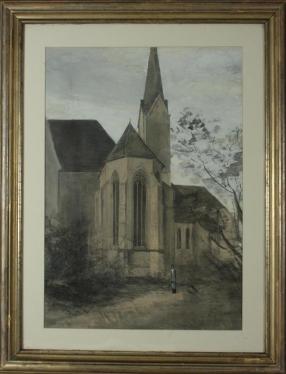 Sophie von Moro, Stiftskirche in Viktring