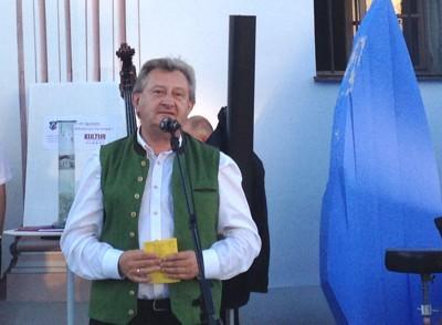 "Landrat Franz Meyer, Sommerfest der ""Kultursponsoren im Landkreis Passau"" 2013, Foto: Johann Wagmann"