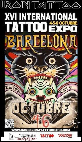 estamos trabajando en la XVI Edición de la Barcelona Tattoo Expo. ... Recuerda en Octubre tenemos una cita ineludible. ¡Vamos ... 4, 5 y 6 Octubre de 2013 ...