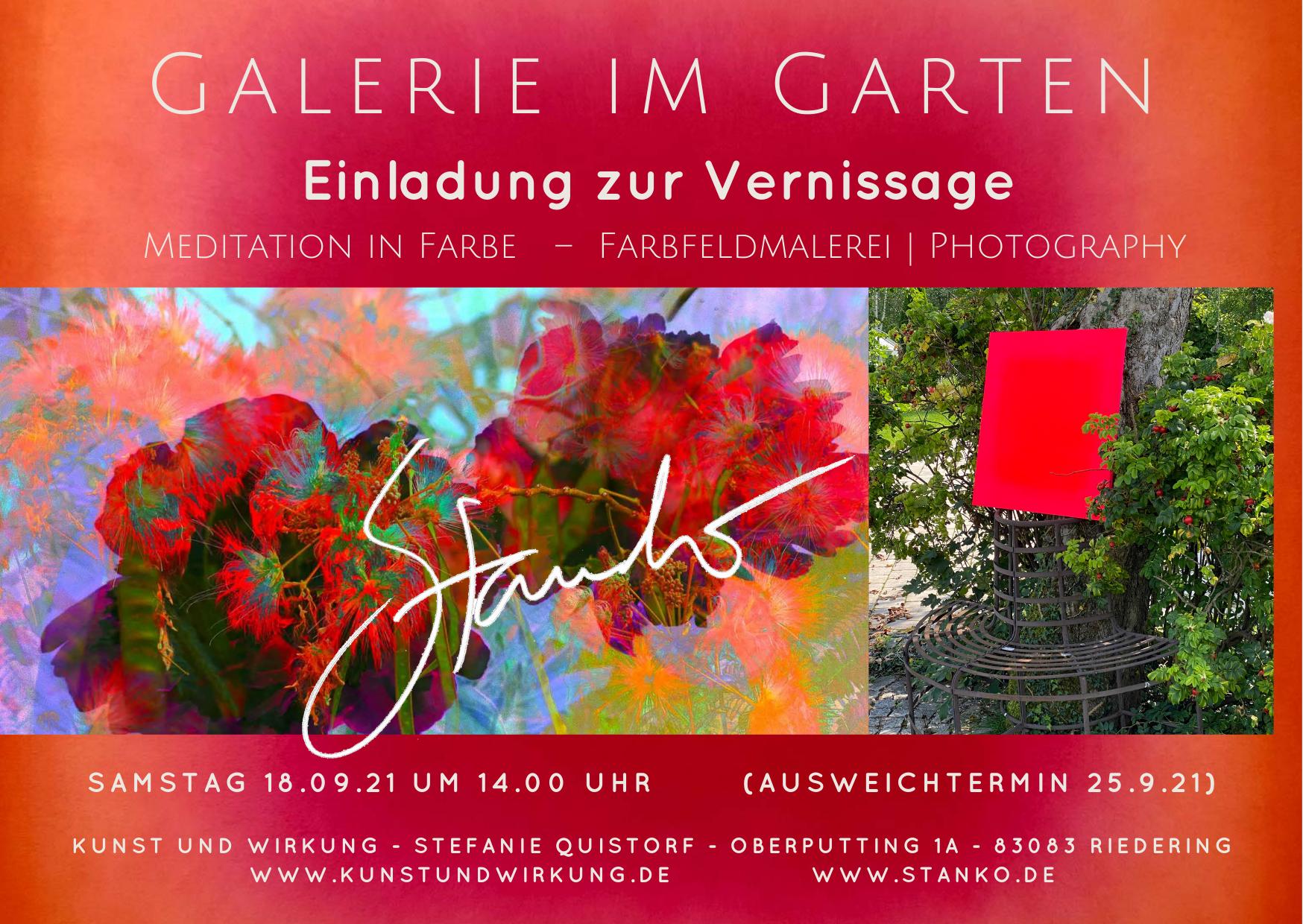 STANKO - GALERIE IM GARTEN