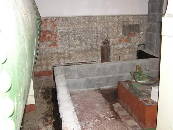Später wurden Wasserbecken gemauert