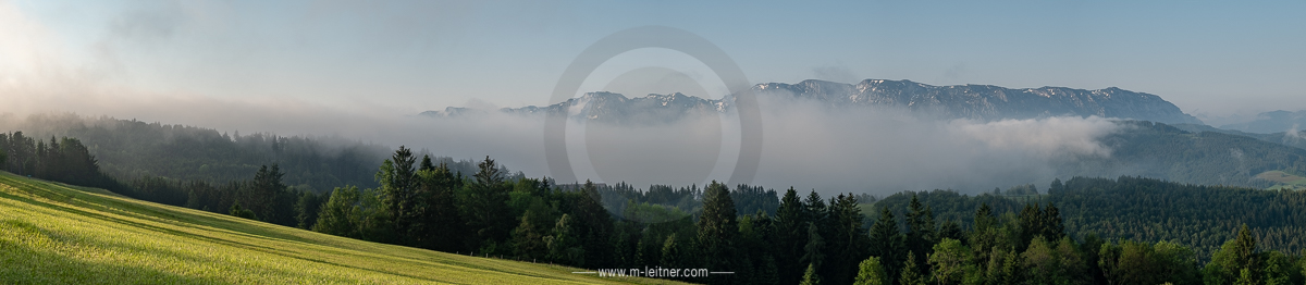 """sunrise hoellengebirge"" - attersee gahberg - size XXL - picture ID 221528"
