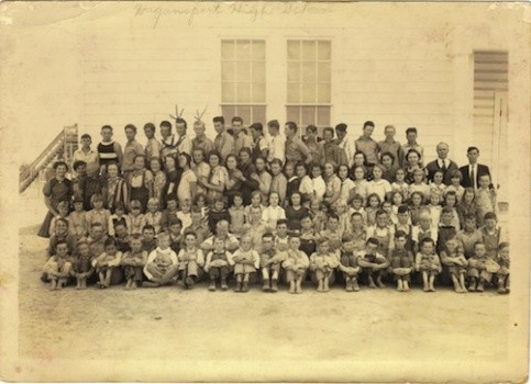 Hagansport School, 1938-1939 (Photo courtesy of Sue Bolin)
