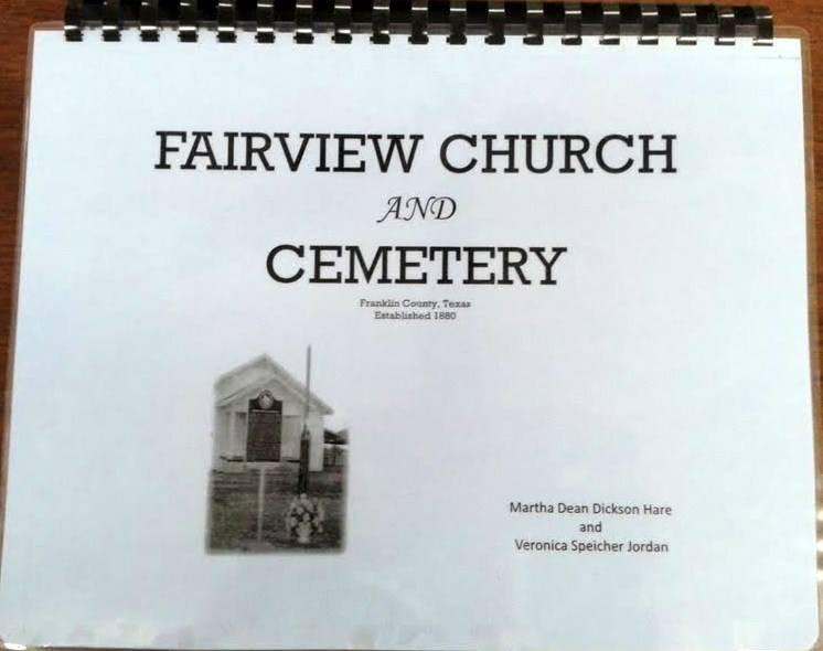 Cover of Fairview Church and Cemetery