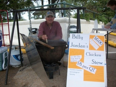 Billy Jordan's FCGS Fundraiser Stew, Fall 2012 (Photo courtesy of Sue Bolin)