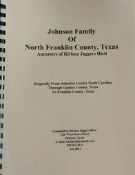Cover of Johnson Family of North Franklin County, Texas