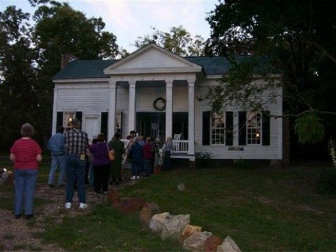 Rogers-Drummond house, 2009, located south of Mt. Vernon. Picture taken on FCGS/Historical Society bus tour of Franklin County historical sites
