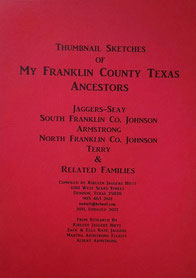 Cover of Thumbnail Sketches of My Franklin County Ancestors