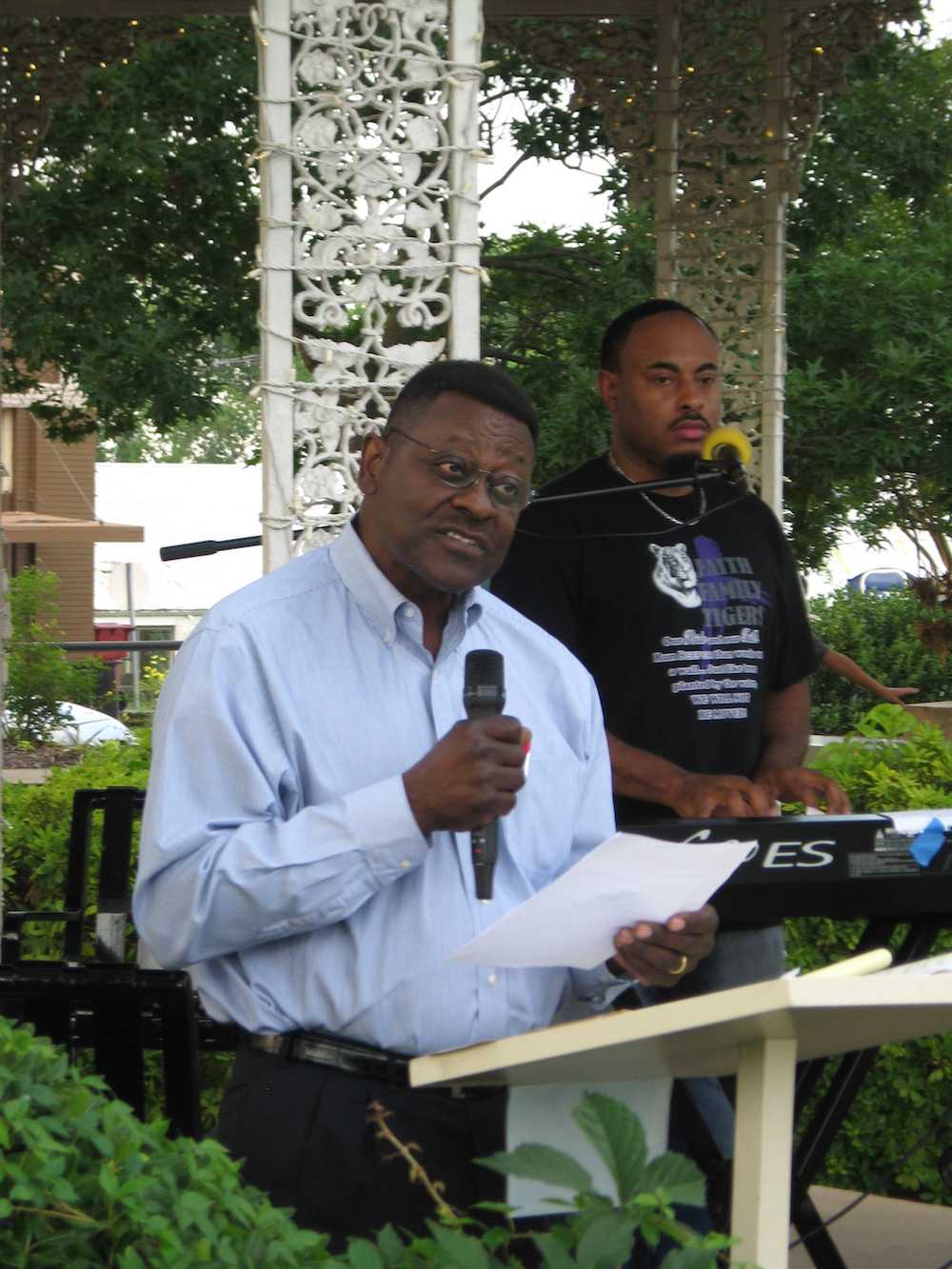 r. Bishop Curry speaking at FCGS Juneteenth program on June 20, 2016