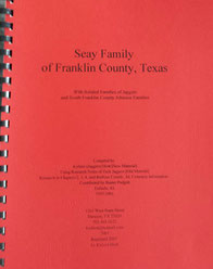 Cover of Seay Family of Franklin County, Texas