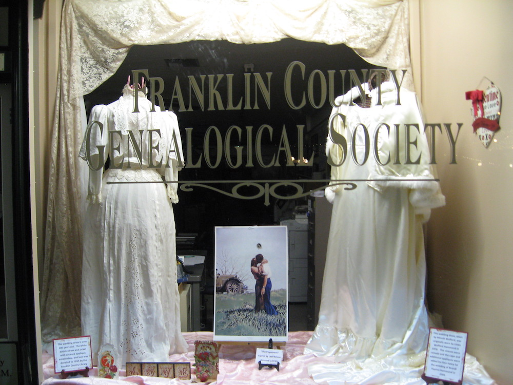 FCGS window display, Feb. 2016