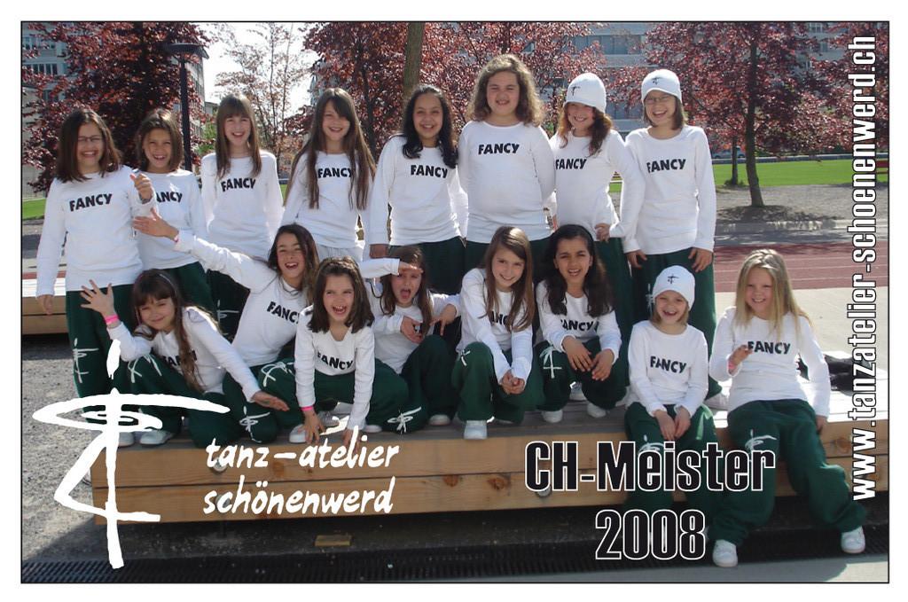 CH-Meister 2008 Kindershowgruppe