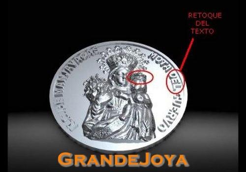Medallón Nuevo con texto modificado