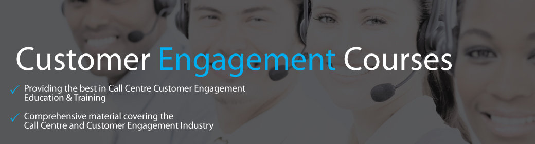 Call Centre and Customer Engagement and Customer Contact Courses