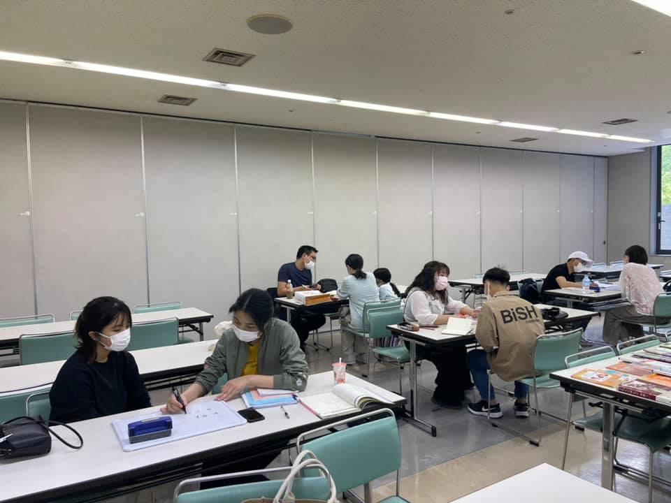 6月6日の日本語教室の様子です。