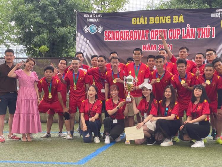 フットサル大会に出場、Sen TVAチームが2回連続2回目の優勝を果たしました!