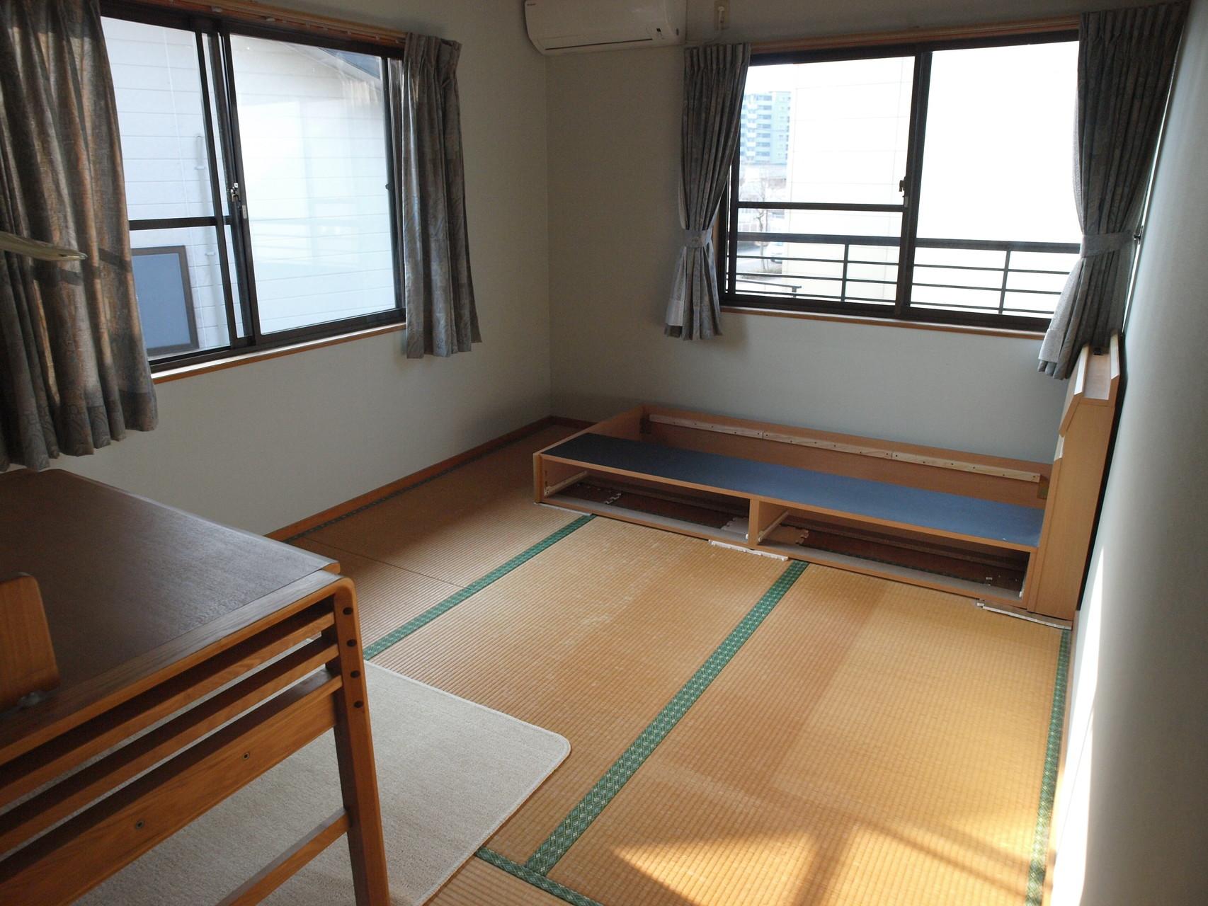 畳の子供部屋。フローリングも考えられたそうですが…