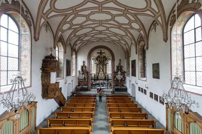 Die Altäre in den Pfyffenkapellen