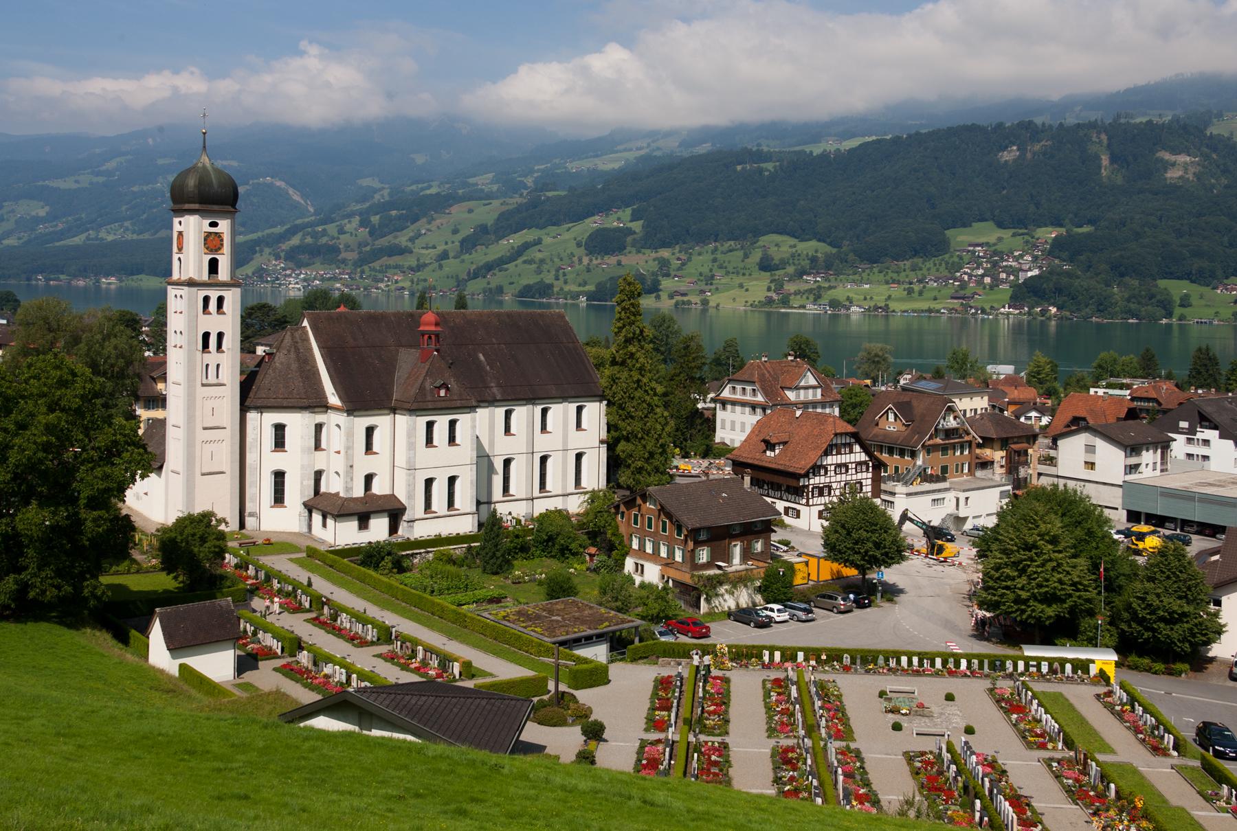 Pfarrkirche in Sachseln