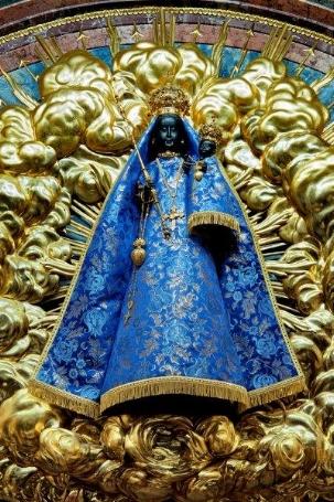 Die Kapelle mit schwarzer Madonna