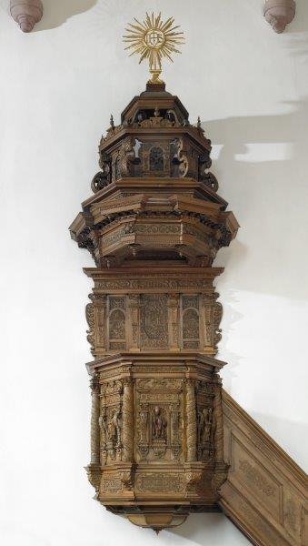 Die Kanzel von 1664