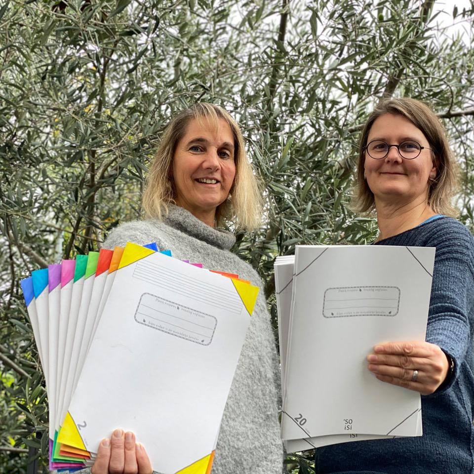 Menschen, die Plastik sparen - Britta Kratz und Elke Leipf