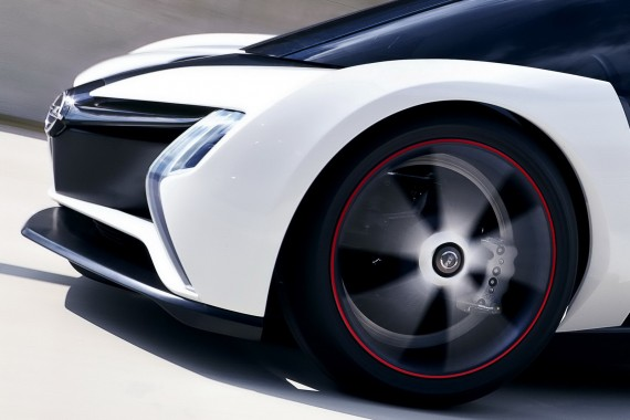OPEL RAK-E / Elektroauto Studie / Tätigkeit: Modellbau im Auftrag von KISKA DESIGN