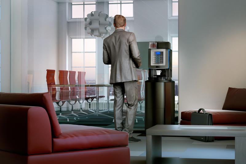 Kaffeevollautomat für Kanzleien - ohne Miete, ohne Leasing, ohne Vertrag