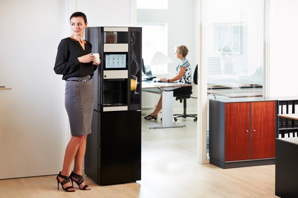 Kaffeeautomat Büro Wittenborg