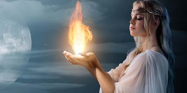 レムリアの火の女神ブレンド