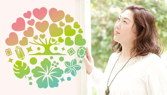 サロン紹介&プロフィールイメージ:サロンオーナーのプロフィール写真とロゴマーク