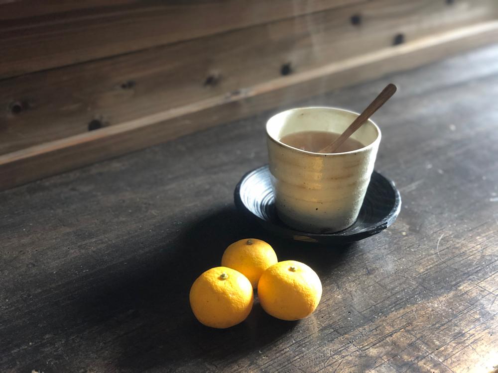 自家製シロップ 柚子茶
