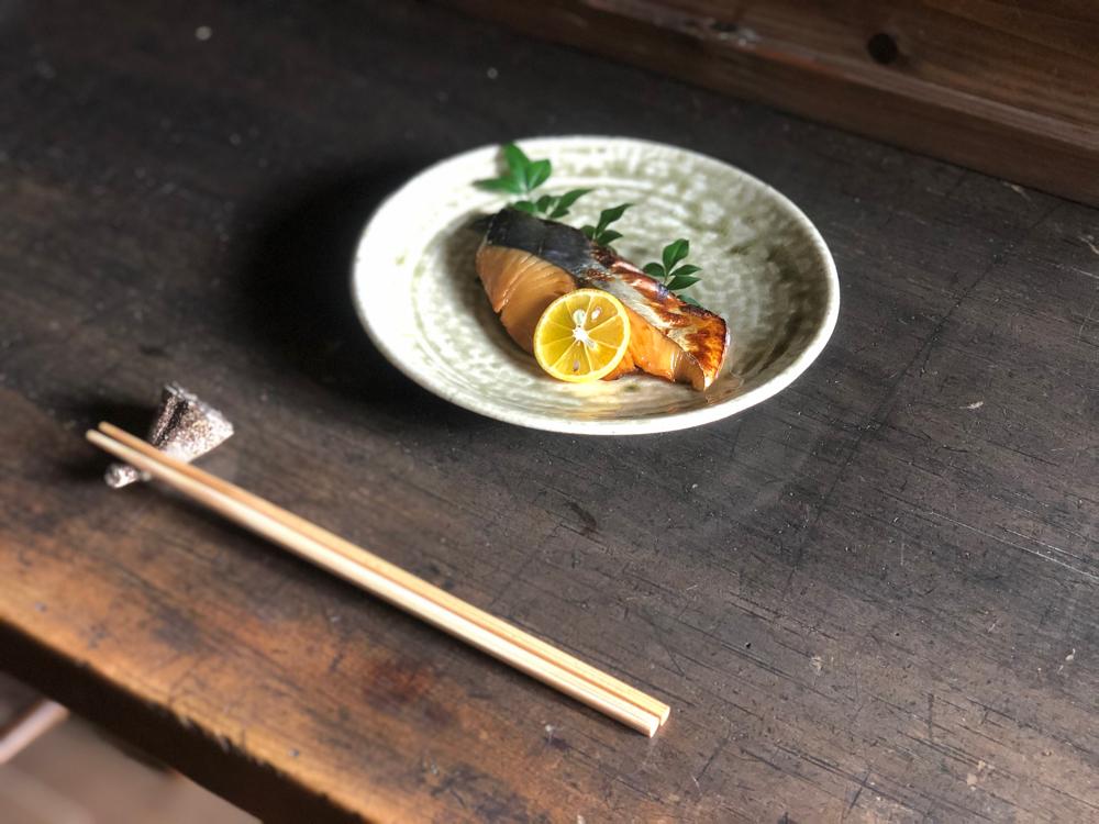 白身魚の柚庵焼き