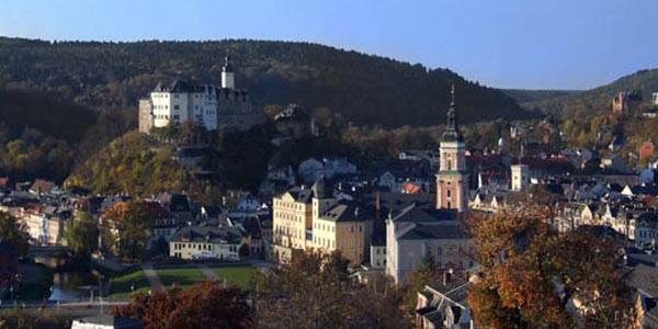 Residenzstadt Greiz im Herbst