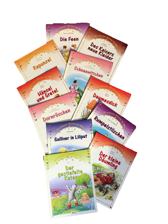 14 Märchen, Übersetzung aus dem Französischen, 2001 (Éditions Atlas)