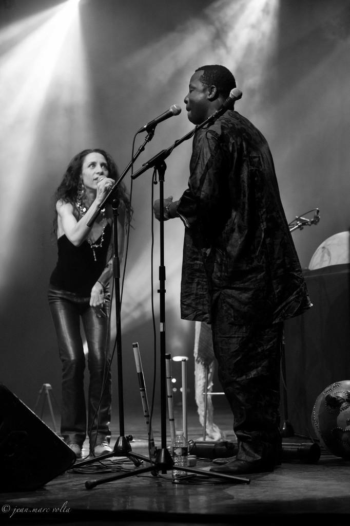 Yacou Moumouni et Bethany Yarrow