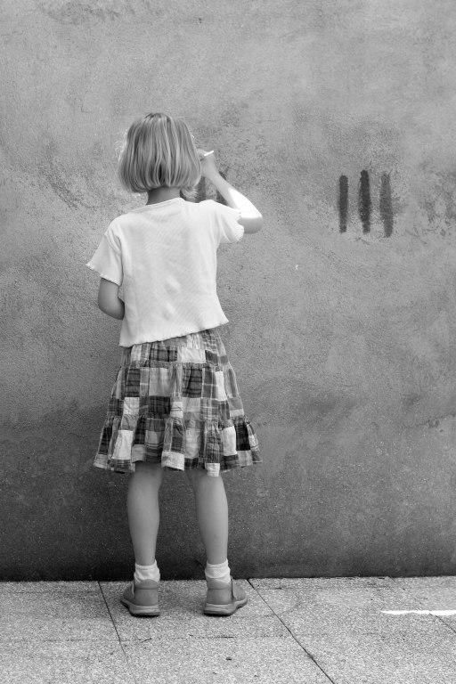 le mur peint de Pauline
