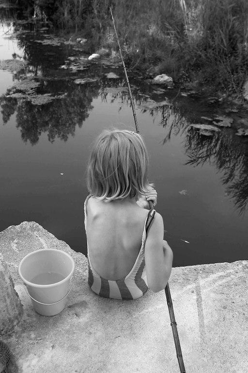 Pauline pêcheuse