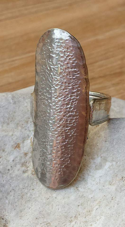 Ring Silberbesteck Schmuck