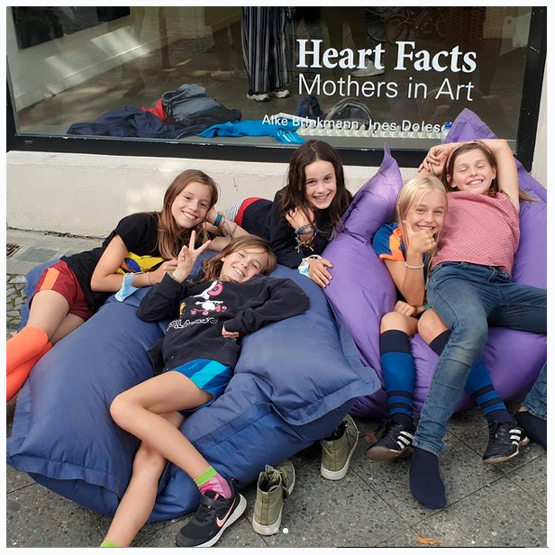 Opening HEART FACTS mothers in art - Alke Brinkmann and Ines Doleschal on august 27, 2021