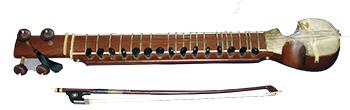 J.I.N教室(東京・軽井沢・福岡)で受講できるインドの楽器イスラジ