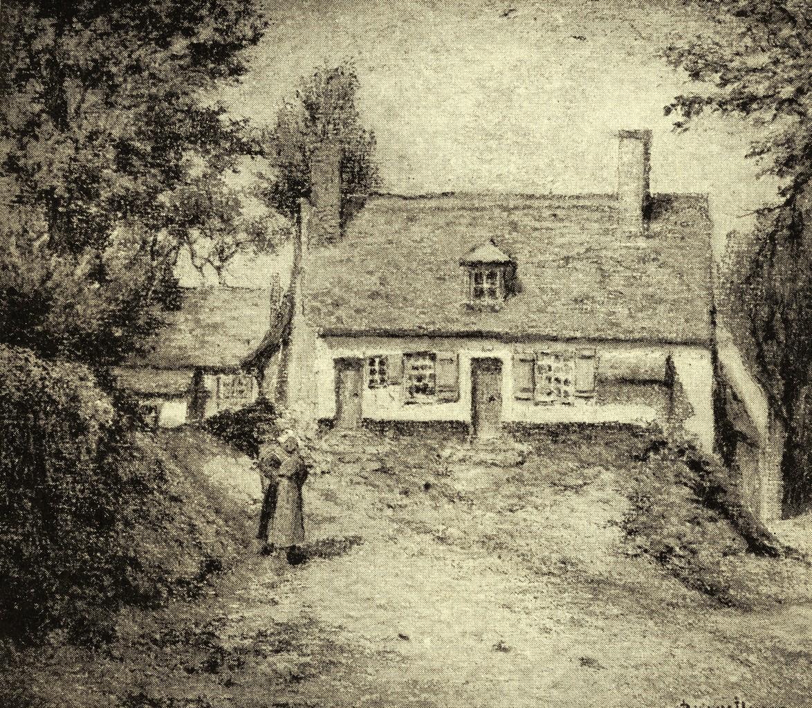 La Valérine vers 1860 dessin de Pierre PRINS (1838-1913)