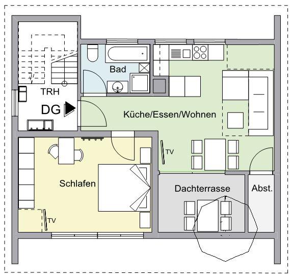 Grundriss DG-Wohnung F****