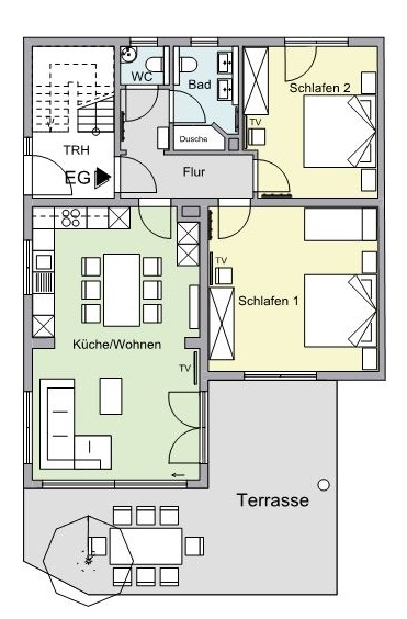 Grundriss EG-Wohnung F*****