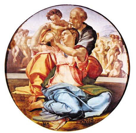 la sagrada familia, Miguel Angel